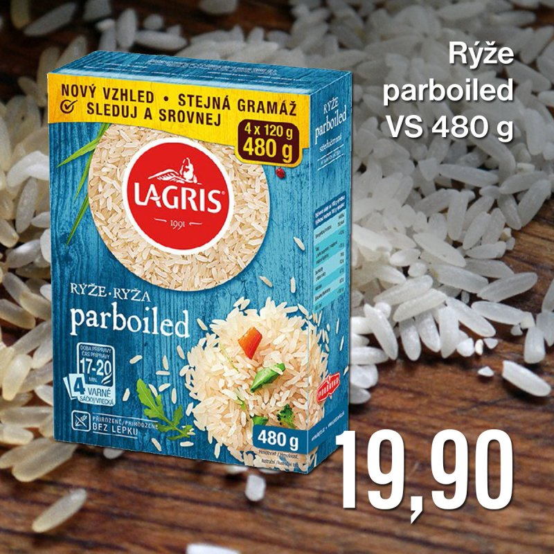 Rýže parboiled VS 480 g