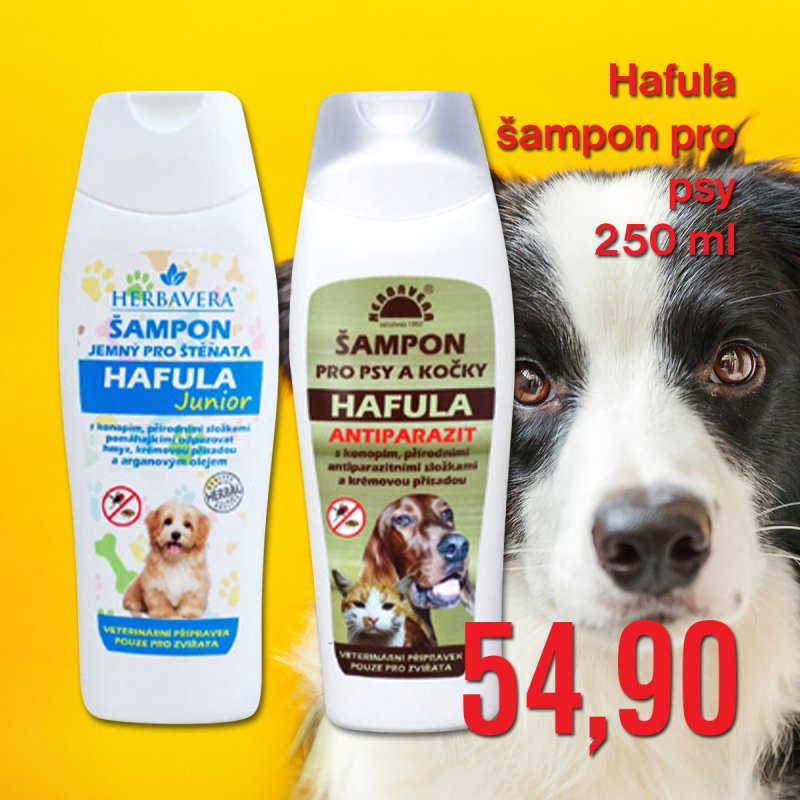 Hafula šampon pro psy 250 ml