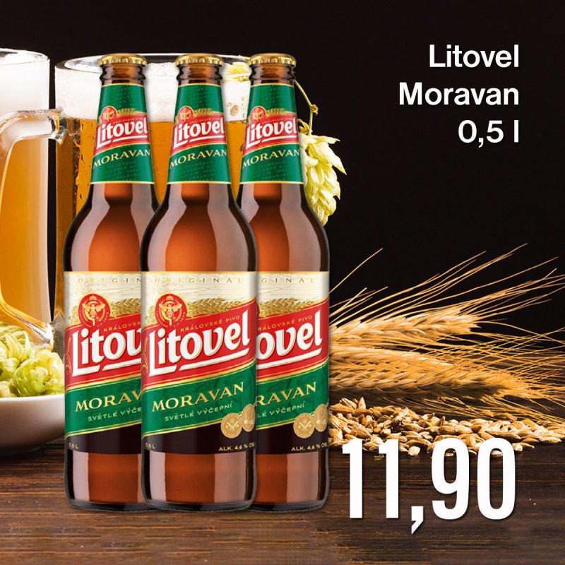 Litovel Moravan 0,5 l